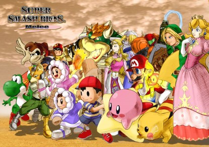 Mario Tennis, Super Smash Bros Melee, Mario Kart, Mario Striker Charged, Football