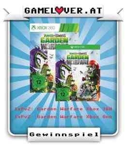 gamelover Gewinnspiel PvZ Garden Warfare