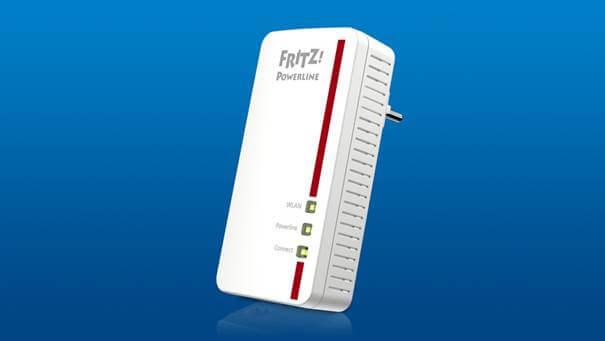 Neues Powerline-Kraftpaket mit schnellem WLAN: FRITZ!Powerline 1260E