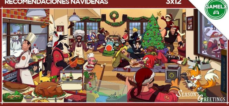 GAMELX FM 3×12 – Recomendaciones Navideñas