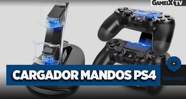 Cargador de mandos PS4 | Unboxing