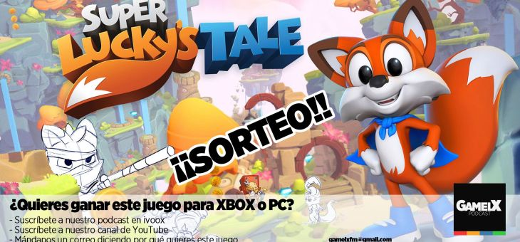 SORTEO: Gana un Super Lucky's Tale para PC o XBox One