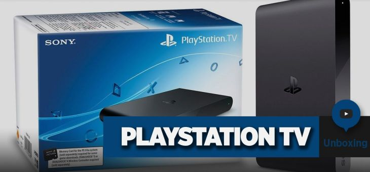 PlaySation TV | Unboxing