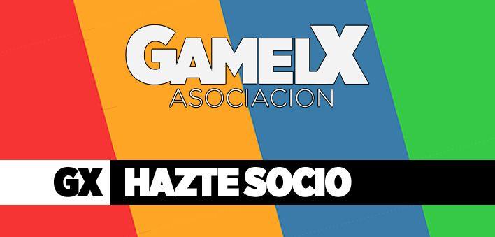 Hazte socio de GAMELX, tu asociación de videojuegos