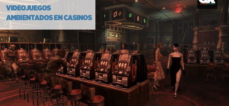 Videojuegos ambientados en casinos