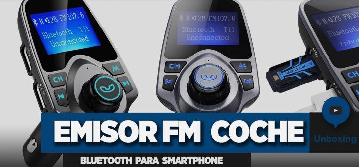 Emisor FM Bluetooth para Smartphone + Instalación en el coche | Unboxing