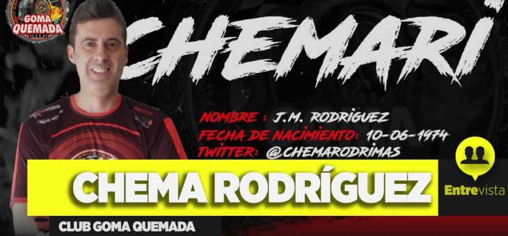Entrevista a Chema Rodríguez, del Club Goma Quemada