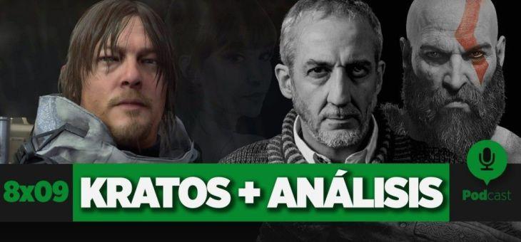 Entrevista a Rafael de Azcárraga (Kratos) + Primeras impresiones Death Stranding | GAMELX 8×09