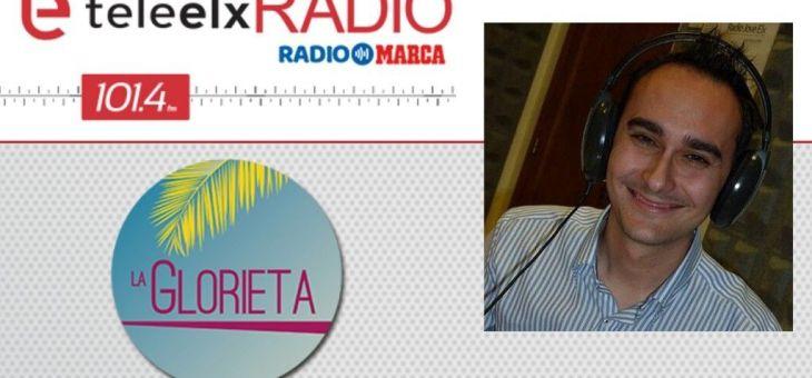 Entrevista a David Bernad en Teleelx Radio Marca