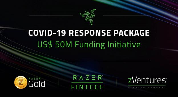 Razer aportará hasta 50 millones de dólares para la lucha contra el covid-19
