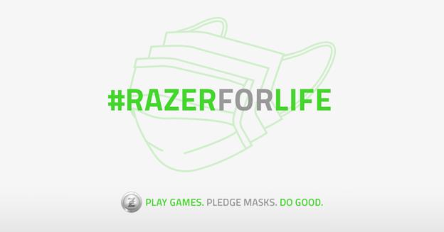 Razer une a la comunidad gaming en la lucha contra el Covid-19