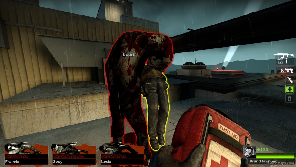 Bloody Charger Left 4 Dead 2 GameMaps