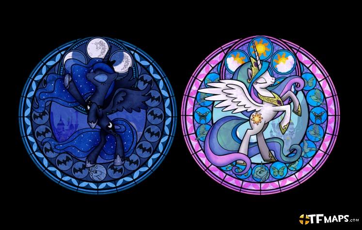 Princess Luna Amp Princess Celestia Pyro Resupply Team Fortress 2 GameMaps