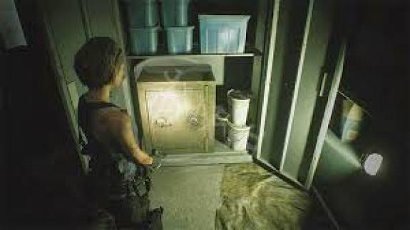 惡靈古堡3重製版 保險箱密碼