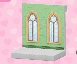 綠色婚禮牆