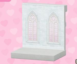 白色婚禮牆