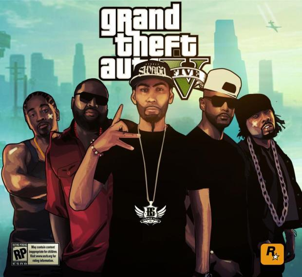 GTA 5 gangsters