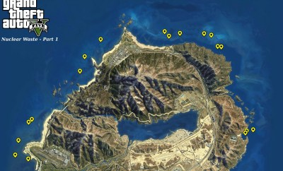 GTA 5 Nuclear Waste Locations