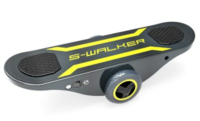 Self-Powered Self-Balancing Skateboard, for Lazy Ass Tony Hawks
