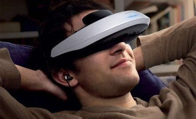VR headset for PlayStation 4