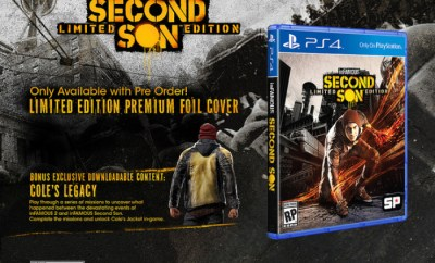 inFamous: Second Son Limited & Collector's Editions