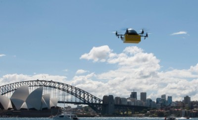 World's First Drone Delivery Service