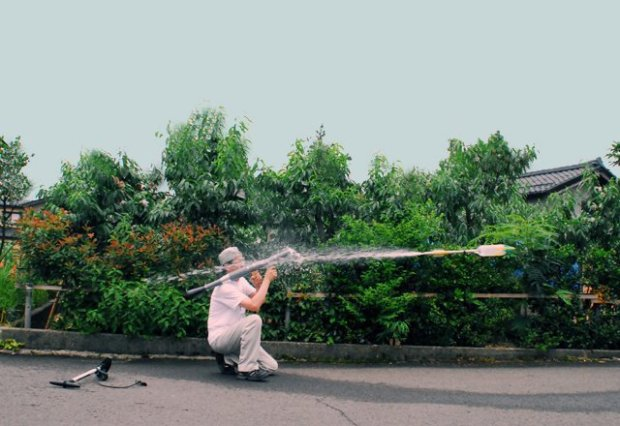 RPG-7 Water Rocket