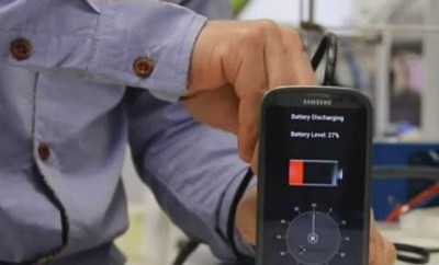 Charge Your Phone in 30 Seconds!
