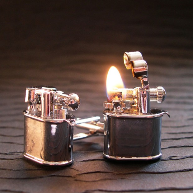 Lighter Cufflinks