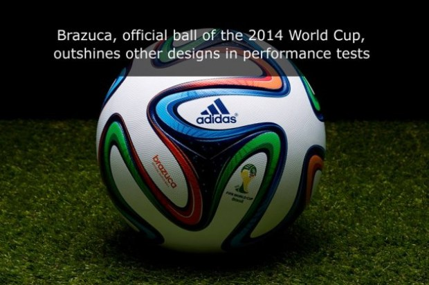 NASA Engineers Test Brazuca