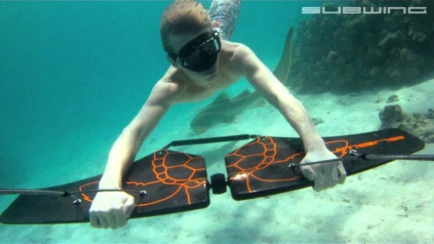 Subwing Is A New Underwater Sport