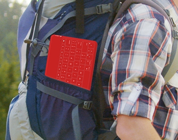 Water Proof Portable Keyboard For Your iPad