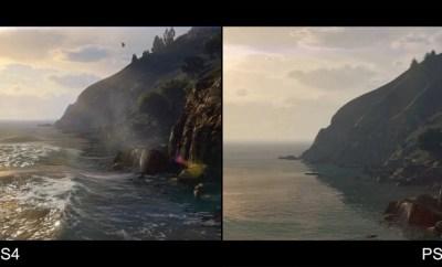 Grand Theft Auto V PS3 to PS4 Comparison Video
