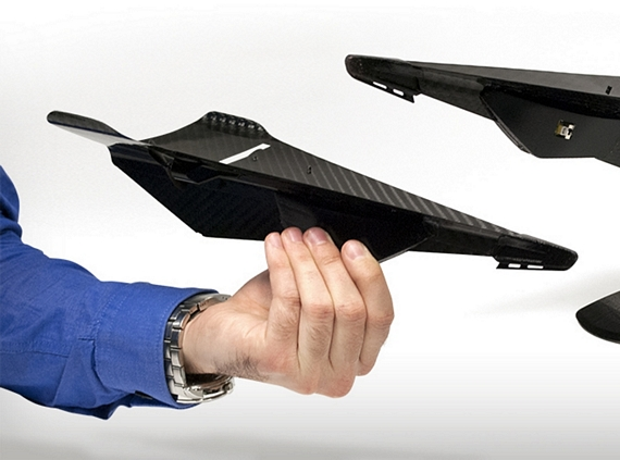 Carbon Flyer Is A Camera-Armed Stealth Drone