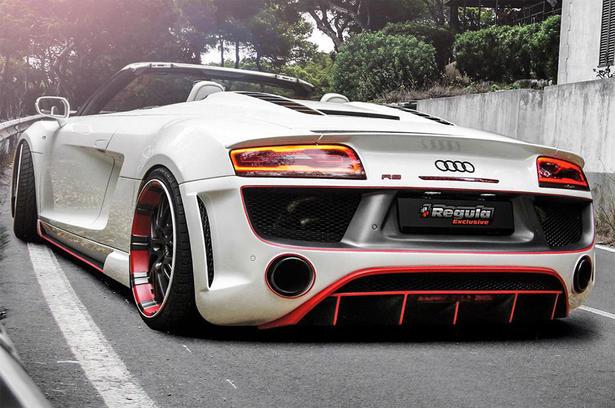 Regula Audi R8 V10 Spyder