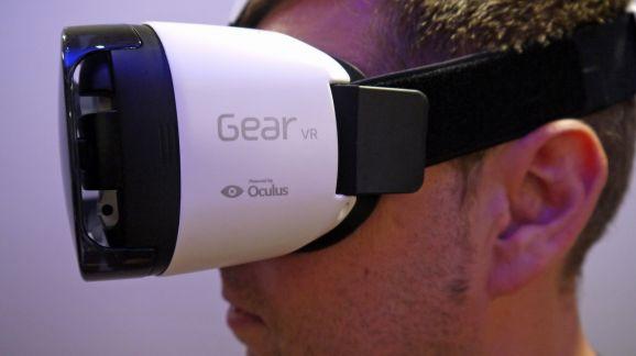 Samsung's Virtual Reality Headset