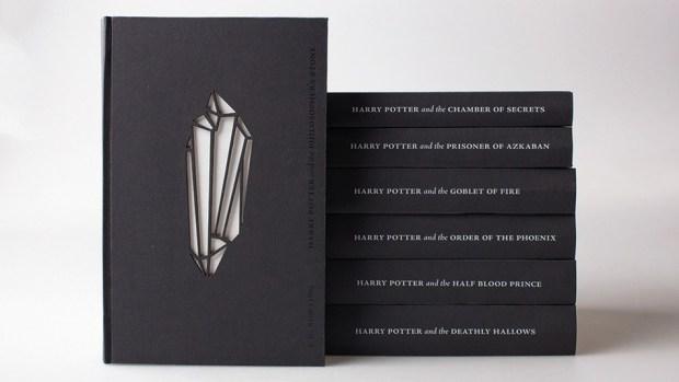 Glow-In-The-Dark 'Harry Potter' Book Designs