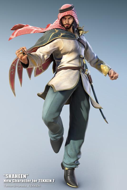 Tekken 7 Will Have The First Saudi Arabian Character SHAHEEN