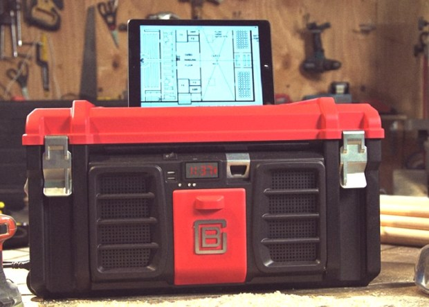 Coolbox Toolbox Includes USB Charger, Speakers And More
