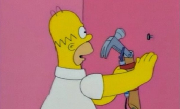 Guy Creates A Working Homer Simpson's Electric Hammer