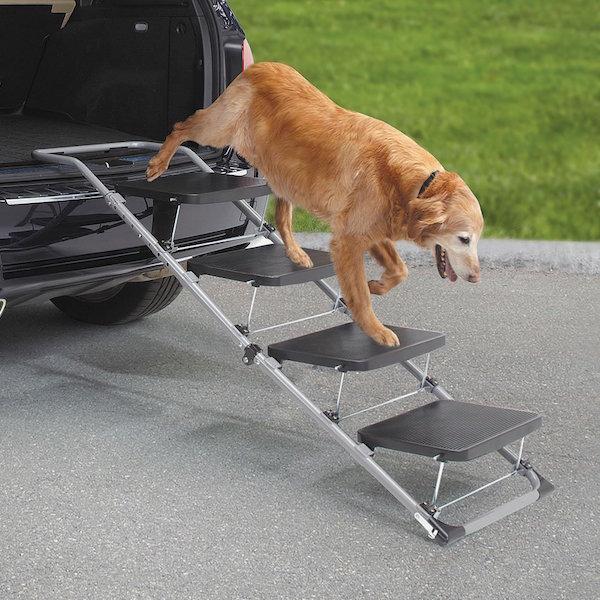the Portable Pet Staircase
