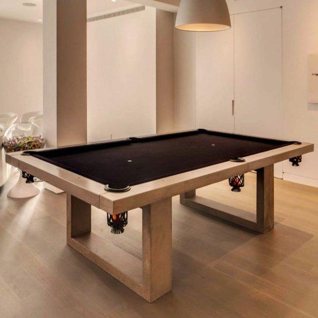 Concrete Pool Table by James De Wulf