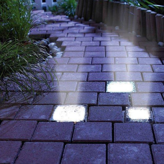 Go Green With These LED Solar Power Bricks