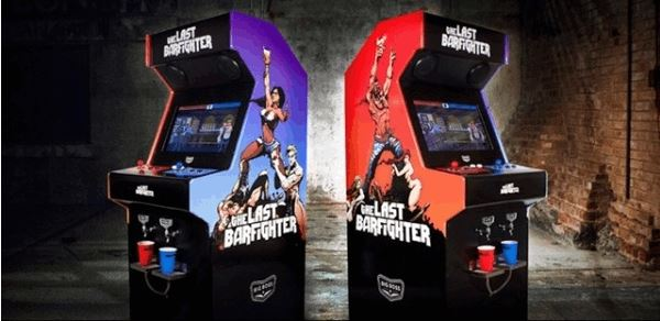 BoozeDispensingLast Barfighter Arcade Game