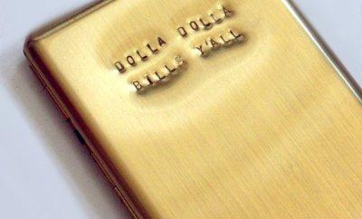 Dolla Dolla Bills Y'all Brass Wallet
