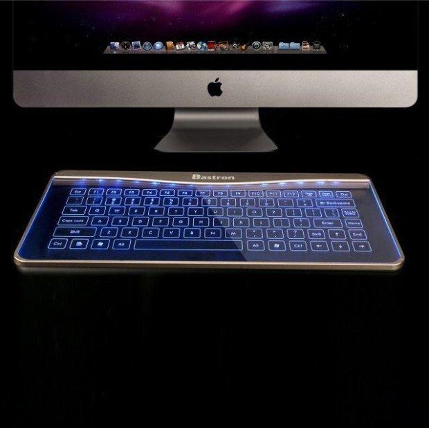 Glass Keyboard by Bastron