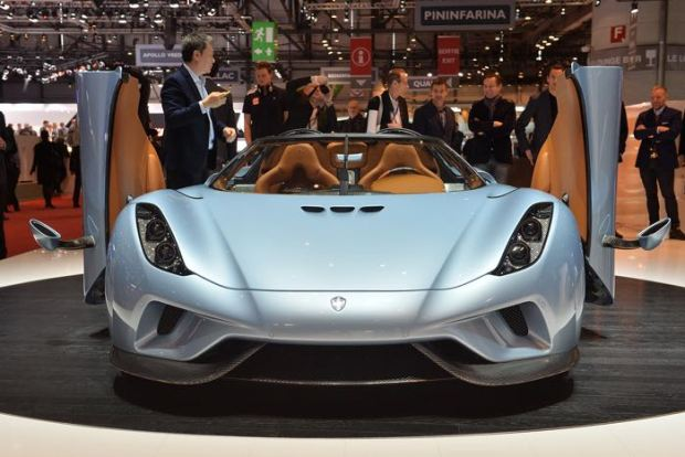 Koenigsegg Regera 1500HP Hypercar