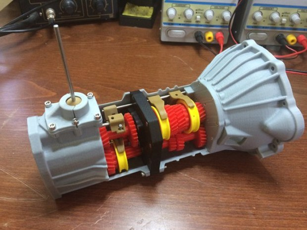 3D Printed Toyota's 5-speed Transmission