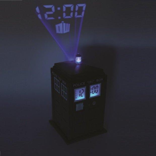 Doctor Who TARDIS Projector Alarm Clock