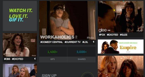 Hulu GIF Search Engine